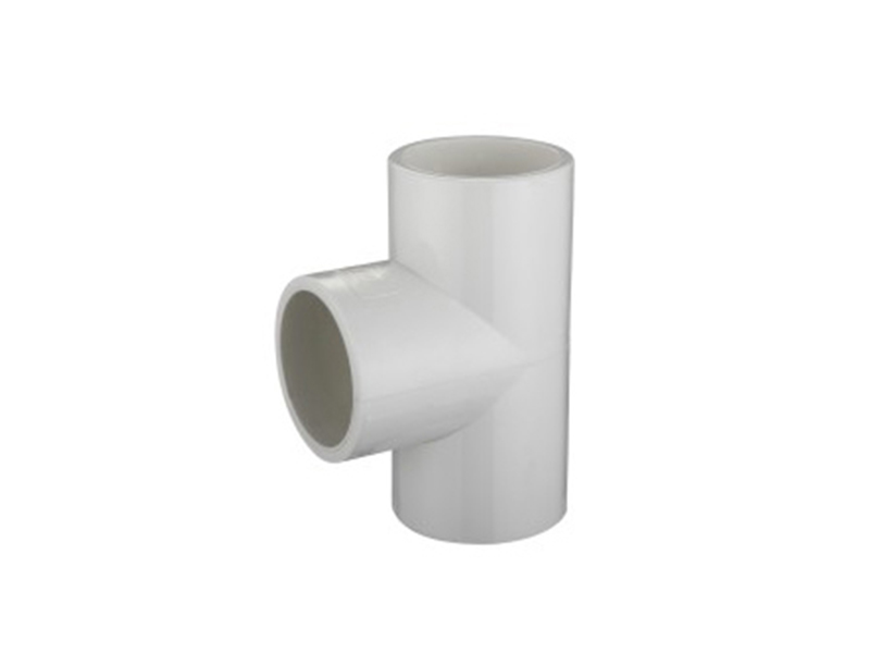 best price UPVC schedule 40 water system pipe fitting equal tee