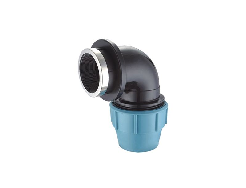 High quality water irrigation system pp compression fittings female elbow