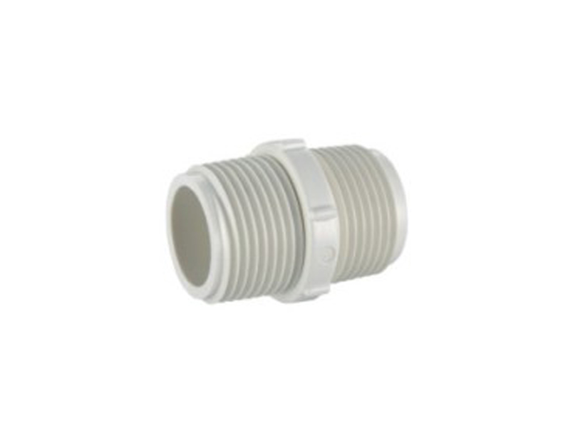 factory UPVC BS thread water system pipe fitting male coupling