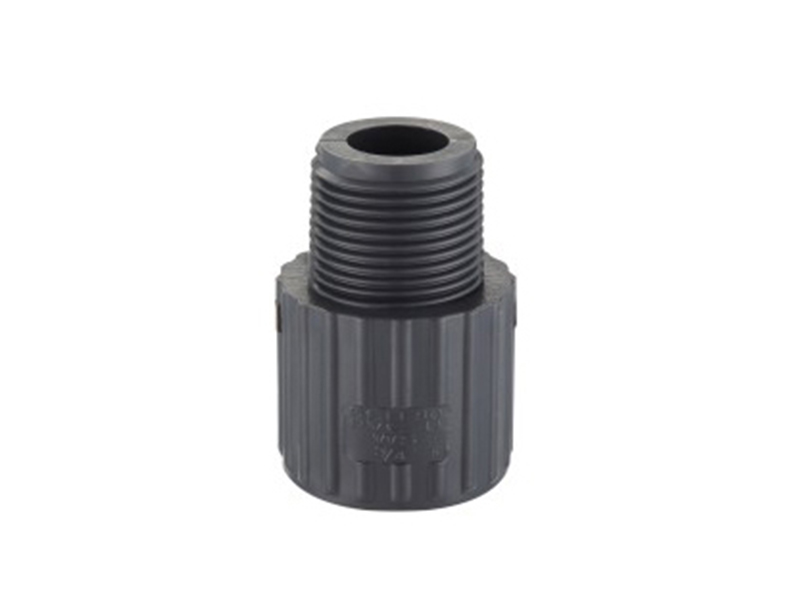 Best price plastic pipe coupling fitting PVC male adapter