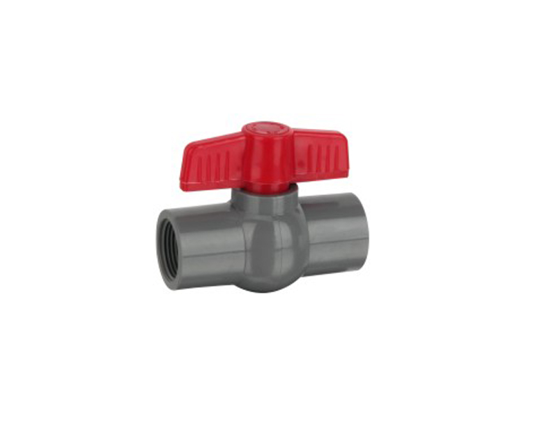 Direct factory plastic compact ball valve