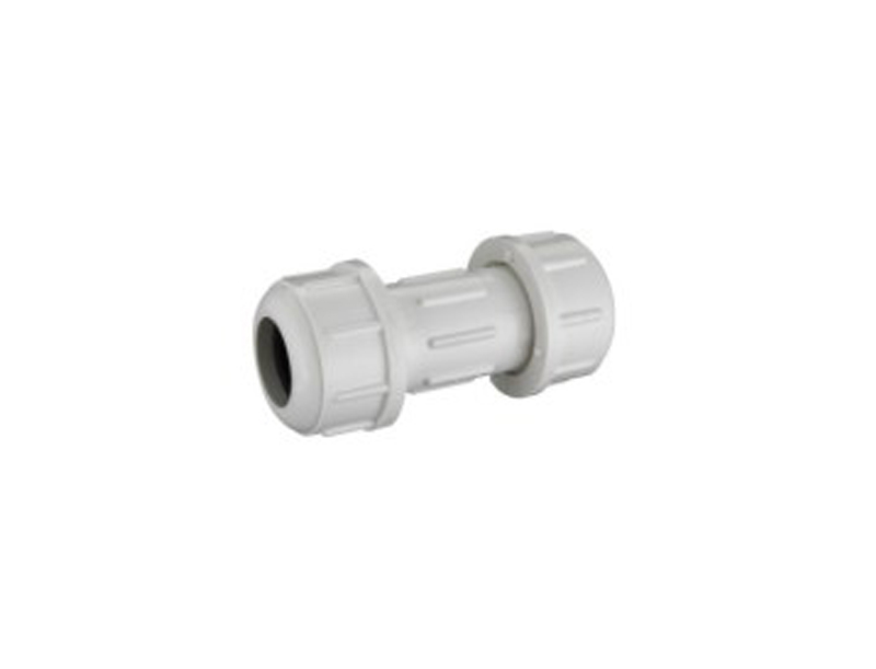best price UPVC schedule 40 water pipe compression fitting coupling