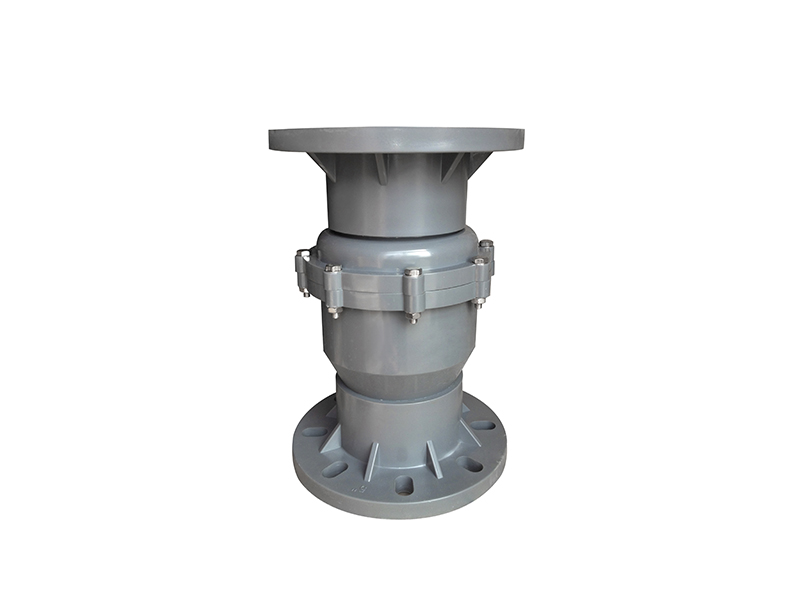 China factory wholesale all size available flange pvc swing check valve