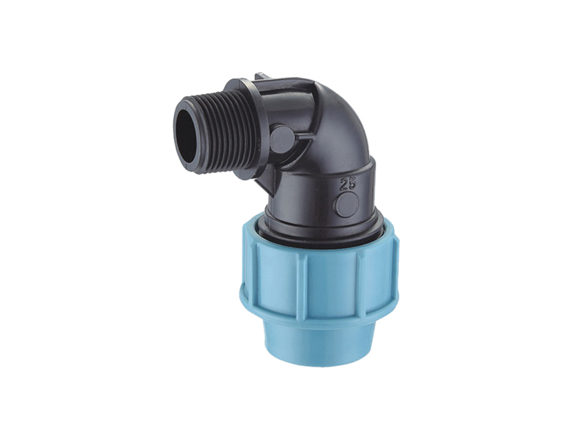 water Irrigation system pp compression fittings female elbow