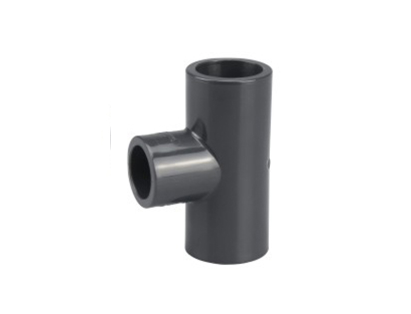 SCH80 standard water system UPVC plastic 3 way reducing tee