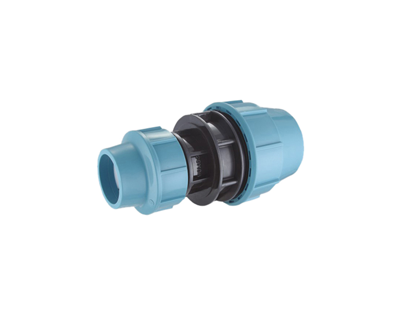 pp compression water supply fittings reducing coupling
