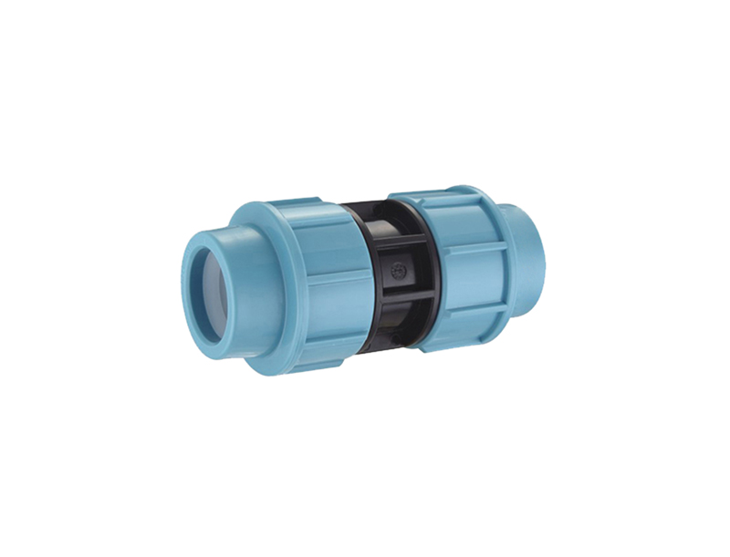plastic irrigation system pp compression fittings coupling
