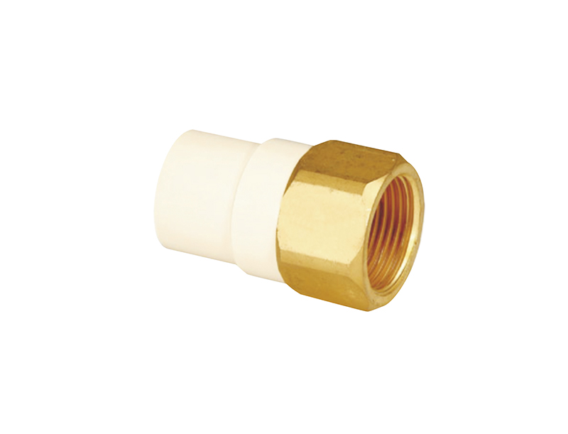FEMALE COUPLING(COPPER THREAD)B27
